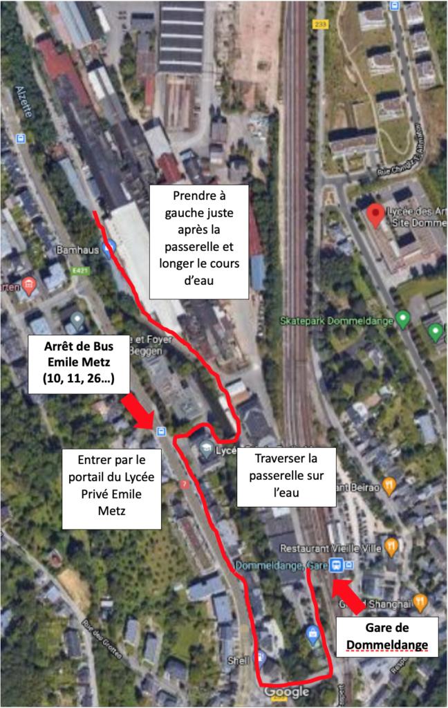 comment accéder à alter coop a pieds transports publics plan d'accès
